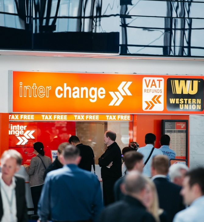 Interchange opens new branches in Terminal 1 at the Vaclav Havel Prague airport