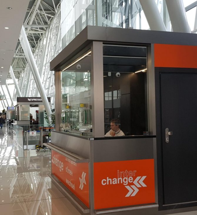 Interchange opens a new foreign exchange office in Bratislava Airport, Slovakia